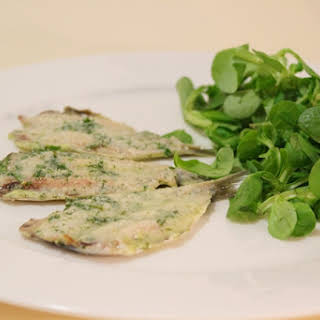Baked Anchovies.