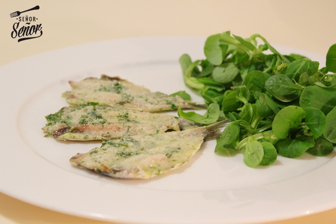 Baked Anchovies