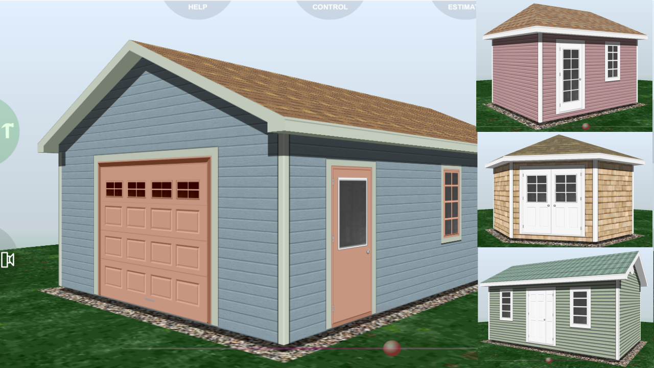 Udesignit 3D Garage Shed- screenshot