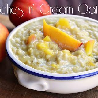 Peaches n' Cream Oatmeal.