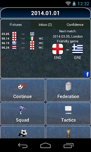 True Football National Manager 1.4.6 screenshots 1