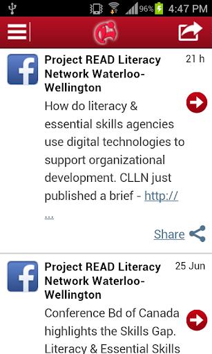 Project READ Literacy Network