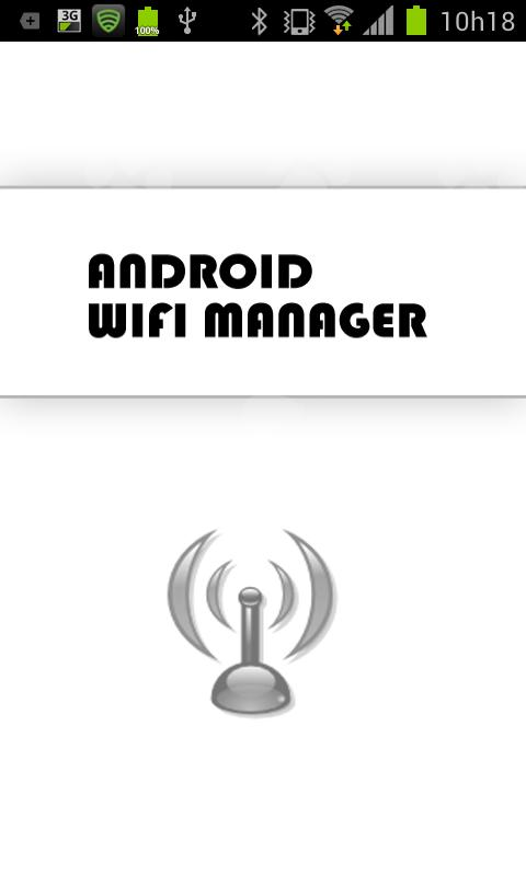 Android Wifi Manager - screenshot