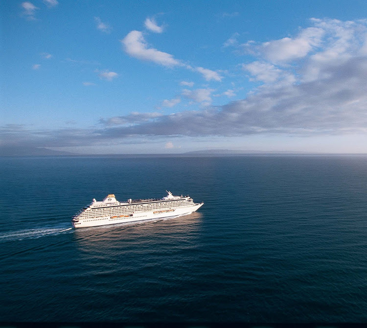 Tranquil seas and beautiful, sunny days await you aboard Crystal Serenity.