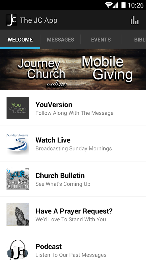 Journey Church - screenshot