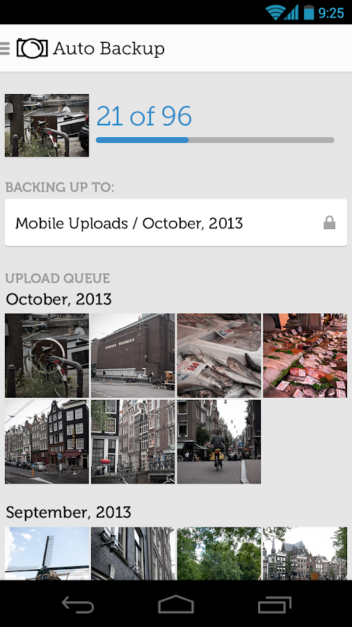 Photobucket Mobile - screenshot