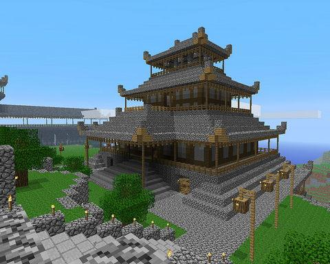 惊人的Minecraft房子思路