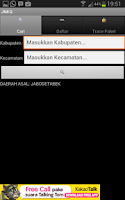 Screenshot of Tarif Ongkir JNE Offline JNEQ