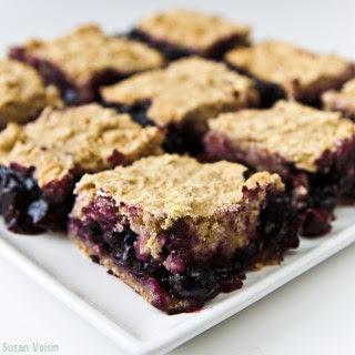 Healthy Blueberry Oat Bar Recipes.