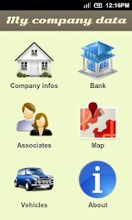 My company data