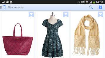 Screenshot of ModCloth