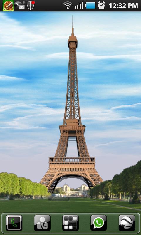Paris LWP - Eiffel Tower- screenshot
