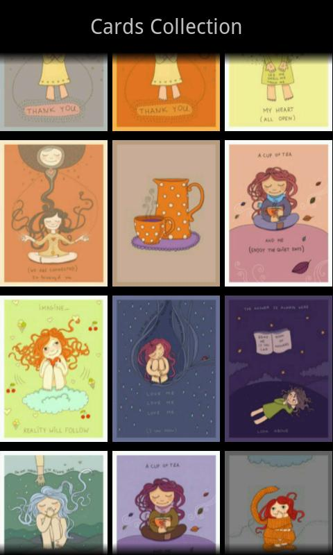 Teatime Greeting Cards FREE- screenshot