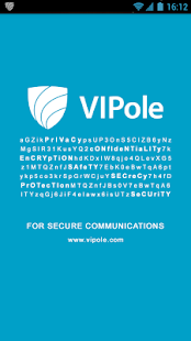 VIPole Secure Messenger - screenshot thumbnail