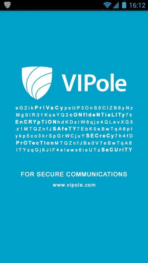 VIPole Secure Messenger - screenshot