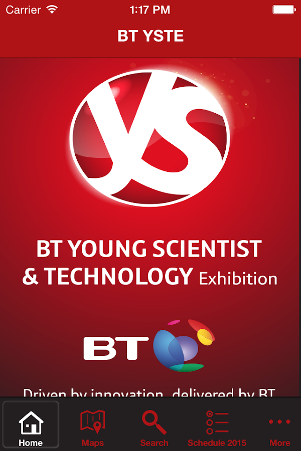 BT Young Scientist & Technolo- screenshot