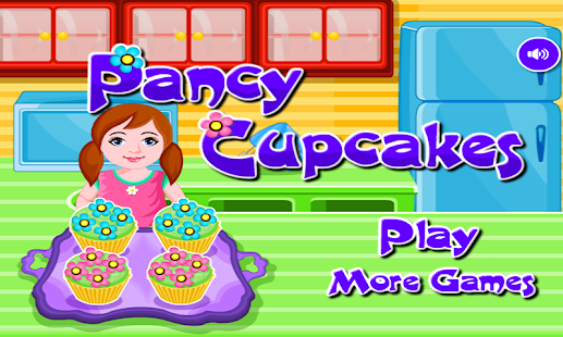 Pancy Cupcakes Cooking Games