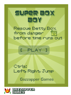Super Box Boy (Platformer)- screenshot thumbnail