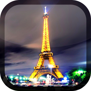 午夜巴黎 動態桌布 個人化 App LOGO-APP試玩