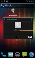 Screenshot of Popup Messenger