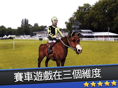3D Horse Derby Jockey Champion