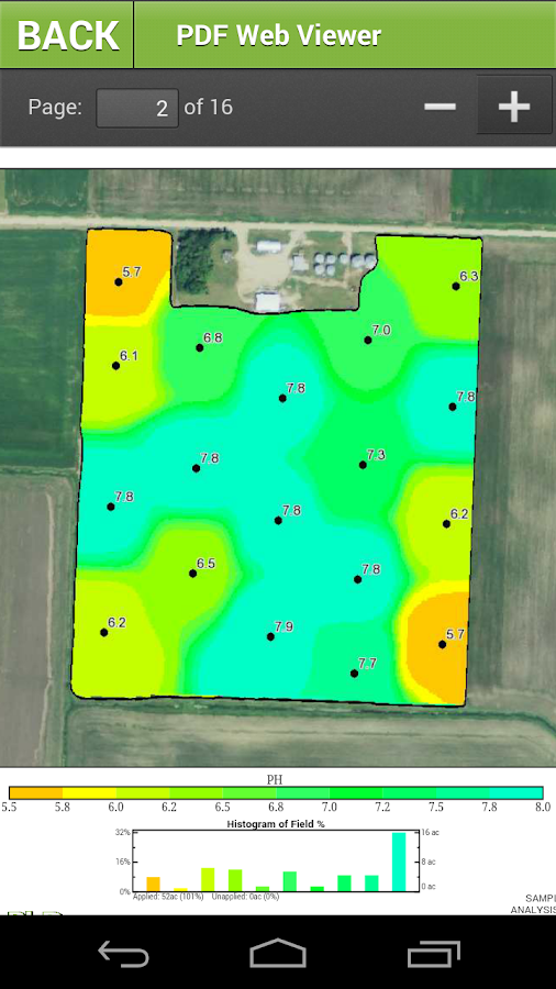 Ag PhD Soil Test- screenshot