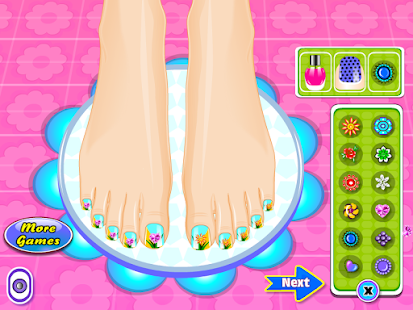 Beauty Salon Nail Games - screenshot thumbnail