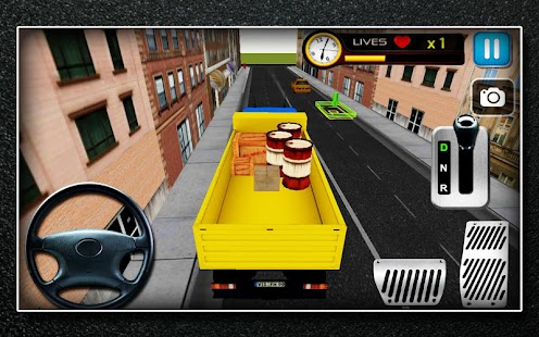 Truck Parking 3D Simulator- screenshot thumbnail