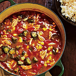 Crab and Vegetable Gumbo.