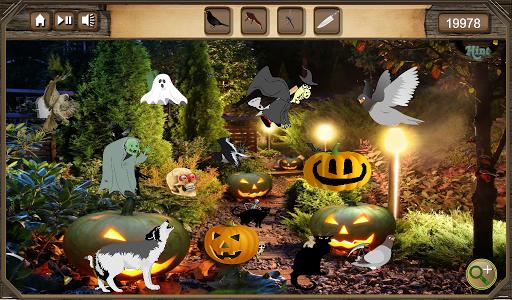 Hidden Object Halloween Night