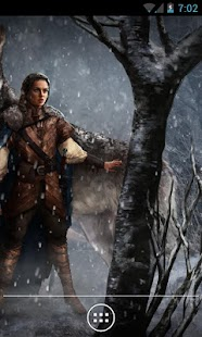 Arya Stark Game of Thrones LWP - screenshot thumbnail