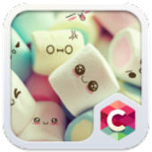 Cute Marshmallow Cartoon Theme