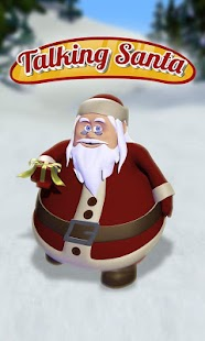 Talking Santa Free- screenshot thumbnail