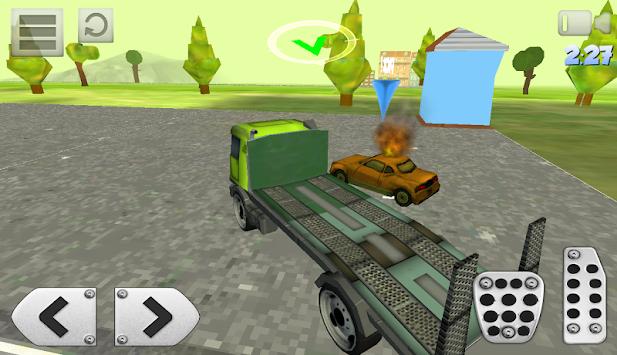 simulateur de camion 3d camion apk 1 0 jeux de simulation gratuit pour android. Black Bedroom Furniture Sets. Home Design Ideas