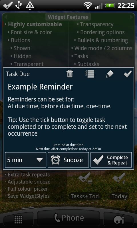Tasks+ To Do List Manager - screenshot