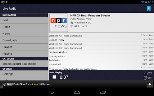 Public Radio & Podcast - screenshot thumbnail