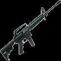 AR-15 machine-gun logo