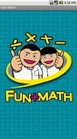 Screenshot of FunMath+