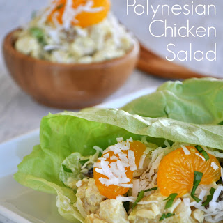 Skinny Polynesian Chicken Salad Recipe