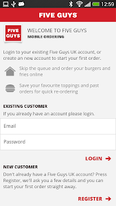 Five Guys UK screenshot 0