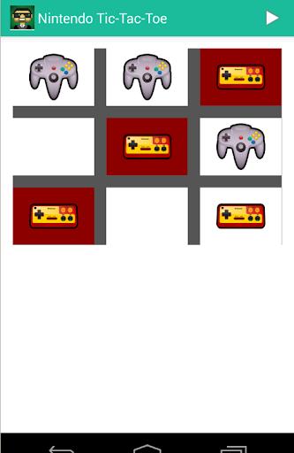 Nintendo Tic-Tac-Toe