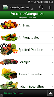 Specialty Produce- screenshot thumbnail