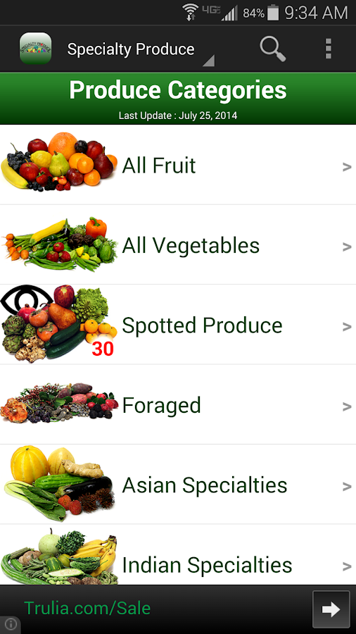 Specialty Produce- screenshot