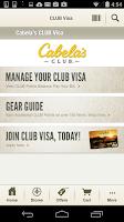 Screenshot of Cabela's