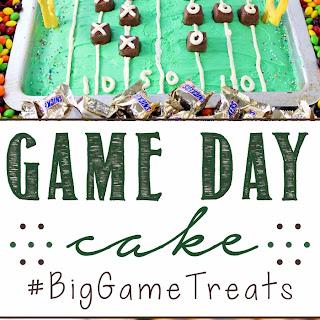 Game Day Cake.
