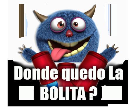 DONDE QUEDO LA BOLITA