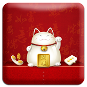 LuckyCat GO Locker Theme