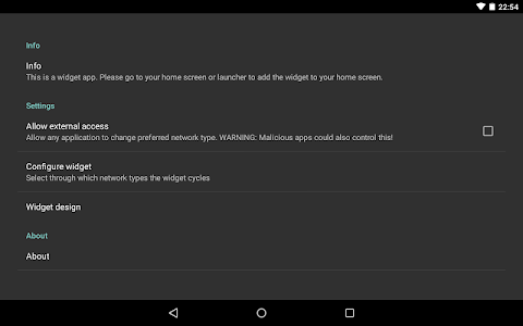 Toggle Network Type 5.0 (root) v1.1.4.0