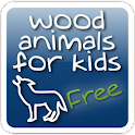 Wood Animals for Kids – free logo