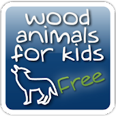 Wood Animals for Kids - free